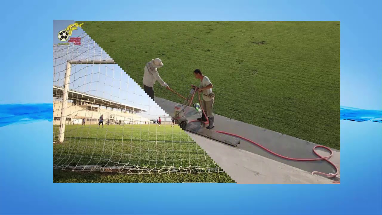 Visakha fc stadium is Making before visit Metfone Cambodia League 2019
