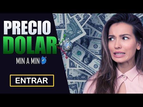 Precio del Dolar Hoy 23 de Marzo del 2019 - Actualizado Minuto a minuto