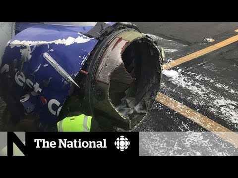 Engine explosion on Southwest Airlines flight kills one