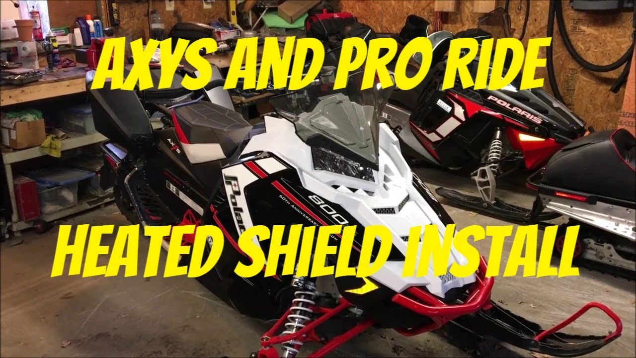 2005 how to install a heated shield plug in your polaris axys or pro ride polaris axys polaris xlt wiring diagram wiring  [ 1280 x 720 Pixel ]