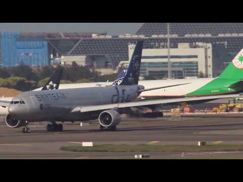 Plane Spotting SkyTeam Airline Alliance Takeoff Runway at RCTP with ATC 桃園機場起飛