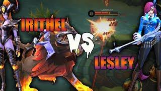 Irithel Vs Lesley Mobile Legends Test