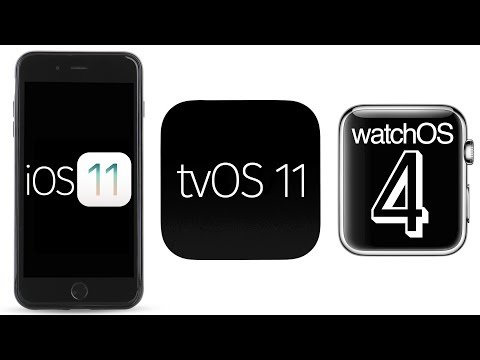 Apple releases iOS 11, watchOS 4 and tvOS 11