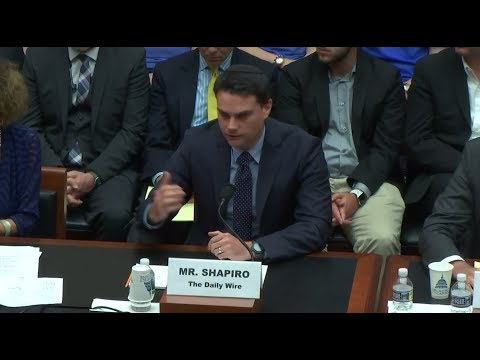 Ben Shapiro Crushes Anti-Free Speech College Snowflakes Before Congress