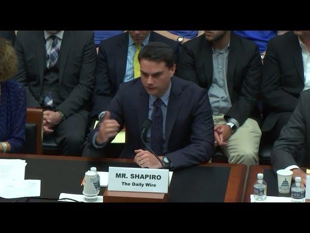 Ben Shapiro Crushes Anti-Free Speech College Snowflakes Before Congress