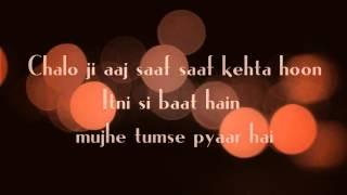 itni-si-baat-hai-azhar-arijit-singh-antara-mitra