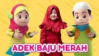 Aishwa Nahla feat Salman Sofia : Adek Baju Merah | Sholawat Badar