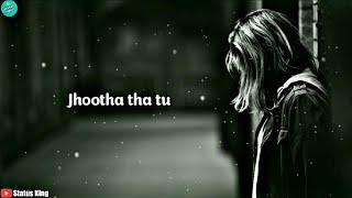 Sad status | Sad status for girls | Breakup status | Hindi poetry status | Heart touching Status ??