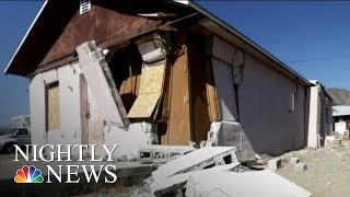 Residents Near Epicenter Of 7.1 Earthquake Without Power Or Water | NBC Nightly News
