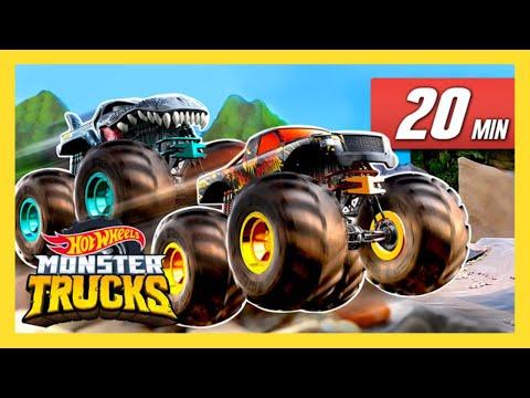 MONSTER TRUCK MADNESS   Monster Trucks   Hot Wheels - YouTube