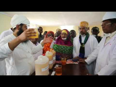 PM VISITING TO MOUNT MERU MILLERS SINGIDA, TANZANIA