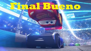Download lagu Cars 3 - El Rayo McQueen vence a Jackson Storm (Español Latino/Escena modificada)