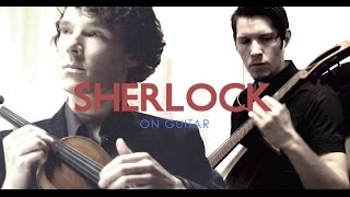 Sherlock (BBC) Theme - Acoustic Labs - Acoustic Guitar Solo Instrumental