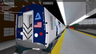 Roblox Subway Testing RARE: AV-1 (S) train