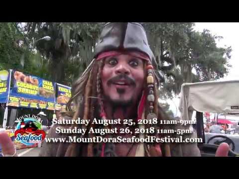 2018 Mount Dora Seafood Festival promo