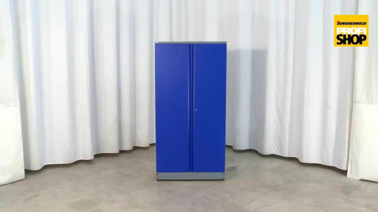 Werkstattschrank mit 5 ausziehbaren Wänden + 9 Schubladen - YouTube