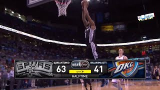 [Ep. 26] Inside The NBA (on TNT) Halftime Report – Spurs vs. OKC Thunder Highlights - 4-7-15