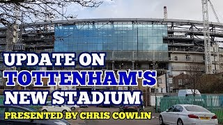 UPDATE ON TOTTENHAM'S NEW STADIUM: A Quiet Week, Pitch Tray Deliveries in January - 30 December 2017
