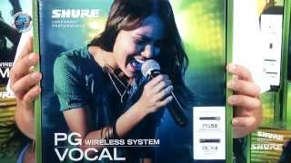 SHURE PG Wireless System BLX24/PG58- By GearTestUa