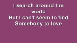 Somebody To Love - Leighton Meester lyrics