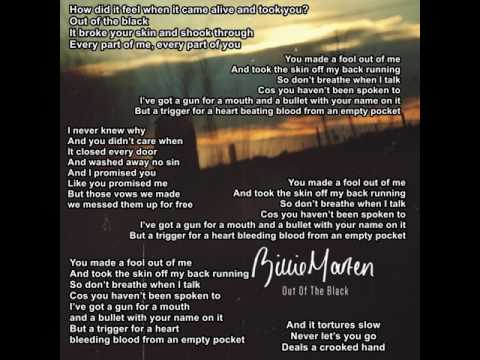 Billie Marten - Out of the Black (lyrics)