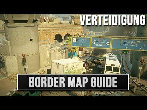 Rainbow Six Siege - Border (Grenze) Map Guide | Verteidigung