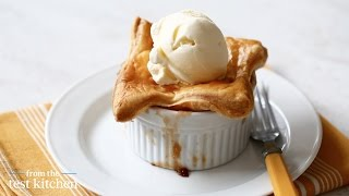 Apple-bourbon Potpies Dessert - From The Test Kitchen