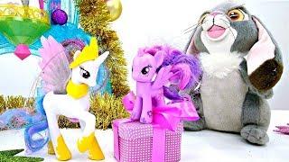 София Прекрасная и Литл Пони готовятся к Новому году