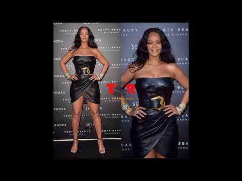 Life's a Ball! RIHANNA Looks Sexy At Majesty at Milan Fenty Launch In Tight Versace [PICS & VIDEOS]