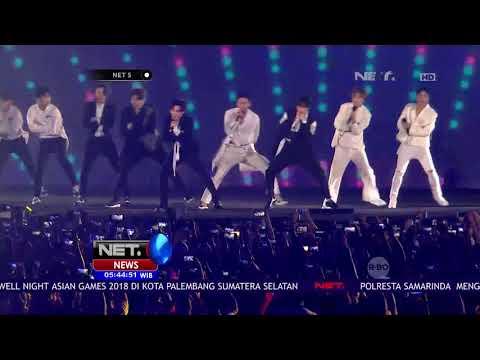 Para Penonton Penutupan Asian Games 2018 Terpukau Dengan Aksi Duo Boyband Asal Korea-NET5