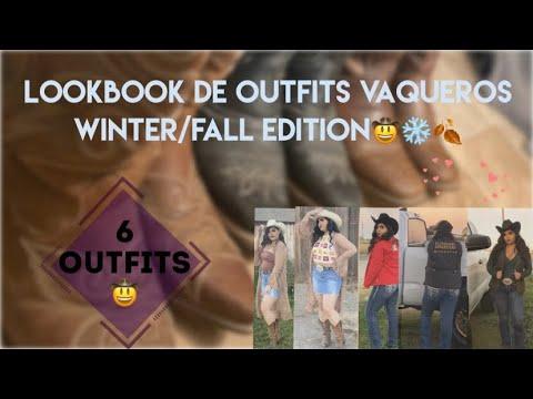 [VIDEO] - Outfits con botas vaqueras look book winter/fall edition❄️🍂🤠❤️ 2