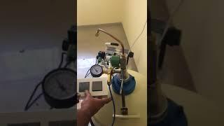 Liquid Nitrogen Automatic Transfer Pump Demo