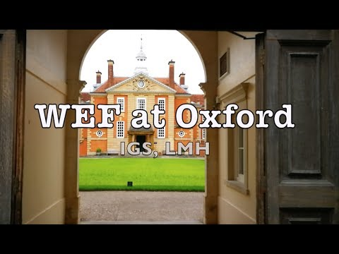 WEF at Oxford