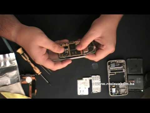 Part 2: Nokia N96 Disassembly and replace Flex / N96 Rasklapanje i zamjena flex'a