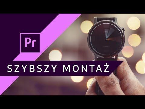 Jak montować szybciej? Przyspieszenie pracy ▪ Adobe Premiere #91 | Poradnik ▪ Tutorial thumbnail