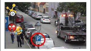 Wie vertreibe ich einen Falschparker vom Behindertenparkplatz | Normalo TV Tutorial