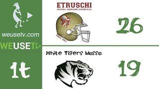 Etruschi Livorno Vs White Tigers Massa (26-19) (primo tempo)
