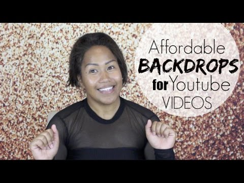 Affordable Backgrounds Backdrops For Youtube Videos