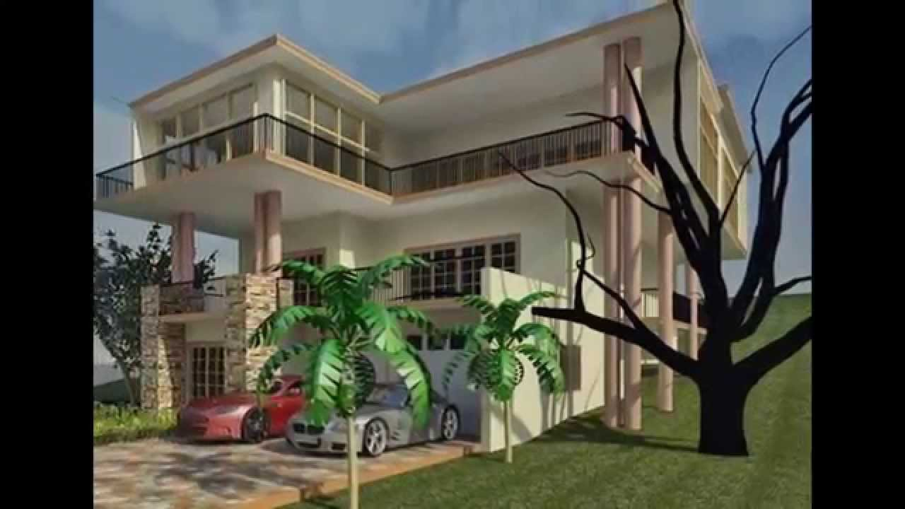 Portland Jamaica Luxury Home Designer   Architect Blue Prints U0026  Construction   YouTube