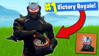 OMEGA SKIN *UPGRADED* In Fortnite Battle Royale!