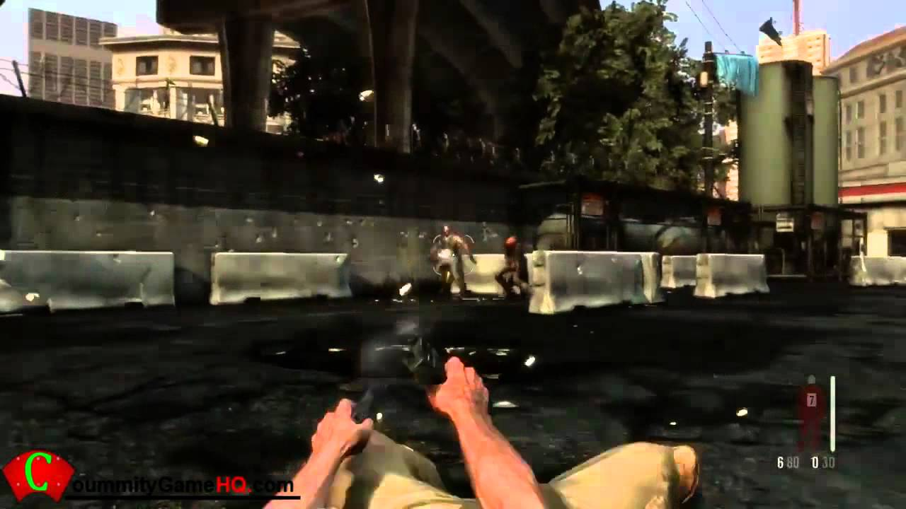 Video Game Trailers Max Payne 3 Design Tech 3 Gameplay
