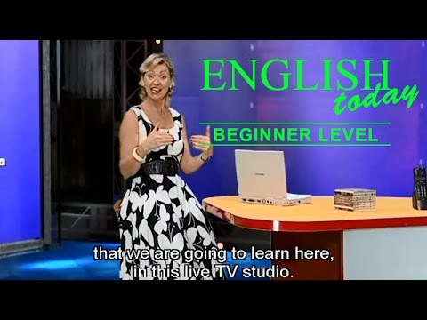 Learn English Conversation - English Today Beginner Level 1 - DVD 1