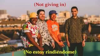 Not Giving in - Rudimental ft. John Newman & Alex Clare (Lyrics - sub. Español)