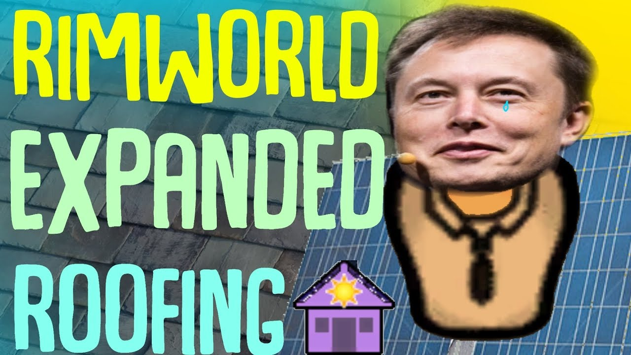 Solar Panel Roofing Expanded Roofing Rimworld Mod