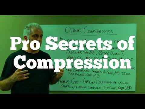 How The Pros Use Compression - Audio Compression Instruments