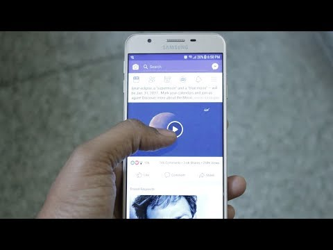 Stop Autoplay videos on Facebook ?? Mute Facebook videos on android Hindi
