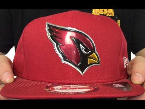 Cardinals  2015 NFL DRAFT SNAPBACK  Burgundy Hat by New Era - YouTube b1be73f6624