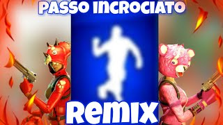 Passo incrociato (remix) avec le mie skin shoppate - Fortnite