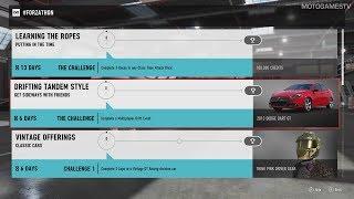 Forza Motorsport 7 - August #Forzathon Events #3 (August 17 - August 24)