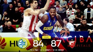 Euroleague Game 4: Red Star Belgrade 87 - Maccabi FOX Tel Aviv 84